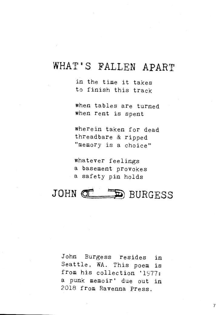 What's Fallen Apart